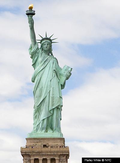La estatua de la libertad visa pour for Interior estatua de la libertad